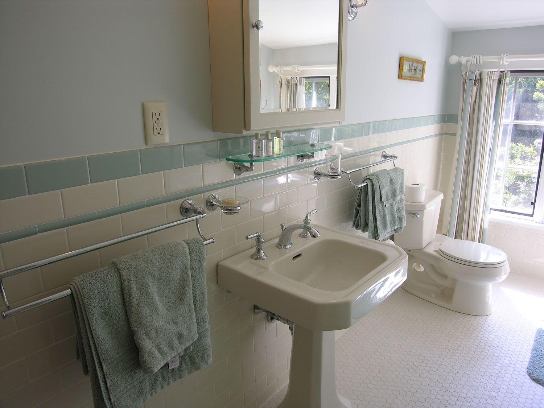 S Retro Bathroom