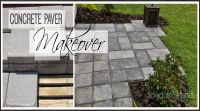 Paver Patio Makeover | Stains, Stitches and 2!