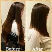 long aline bob hair cut yelp