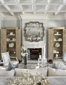 Great room showing how our curio cab could look in grt south shore decorating blog also rh pinterest