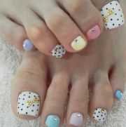 cute nail ideas toe
