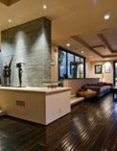 Explore dark interiors dream homes and more also sala moderna con piso de madera casas modernas pinterest rh