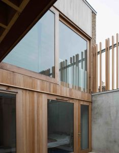 Image of from gallery one up two down mccullough mulvin architects photograph by christian richters also rh za pinterest