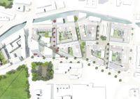 social housing landscape architecture plan - Buscar con ...