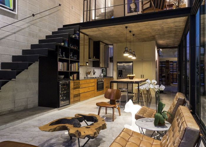 For raw home the taller estilo arquitectura team faced  number of design challenges in addition to west facing entryway family was be also gestalten by casa pinterest lofts