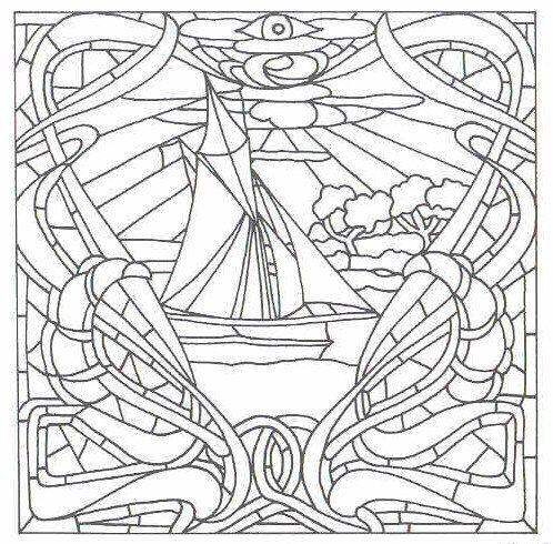Free Printable Art Deco and Art Nouveau Patterns