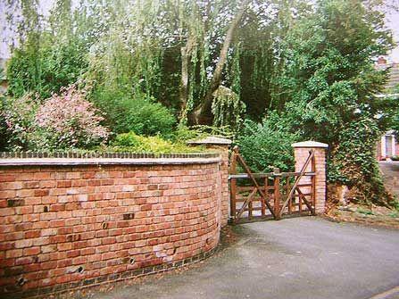 Brick Garden Wall Brick Laminate Picture Brick Garden