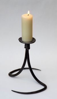 Candle Holder. | Blacksmith Projects | Pinterest ...