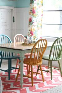 American chalky paint tutorial | Chalky paint, Colorful ...