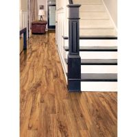 7 in. x 48 in. x 3.2 mm Hand Scraped Pecan Vinyl Plank ...