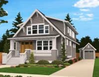 Plan 85058MS: Handsome Bungalow House Plan