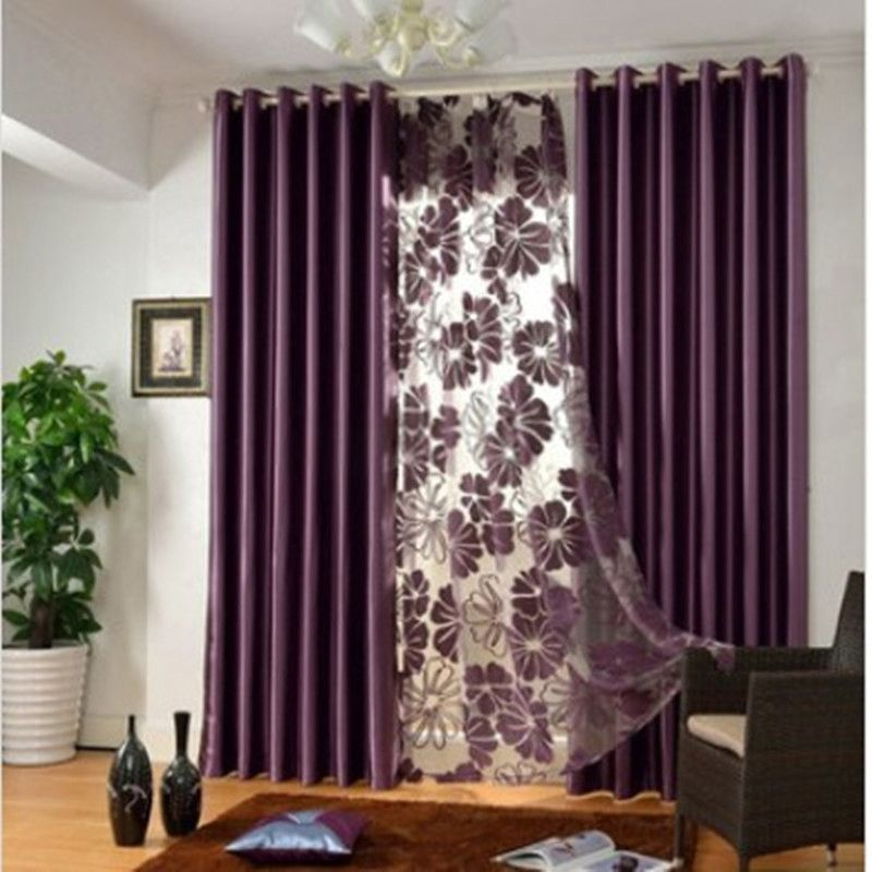 Image Result For Royal Purple Curtains Living Dining Purple