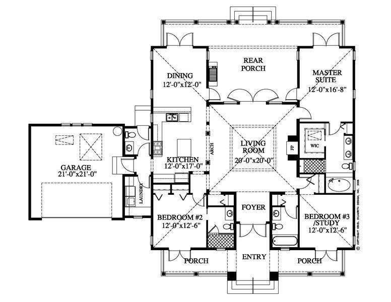 "Hawaiian Plantation Style Floor Plan Google Search ""back To"