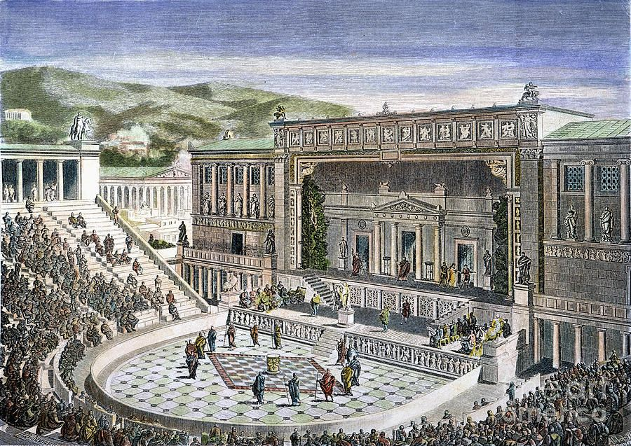 Image result for ancient greek theatre
