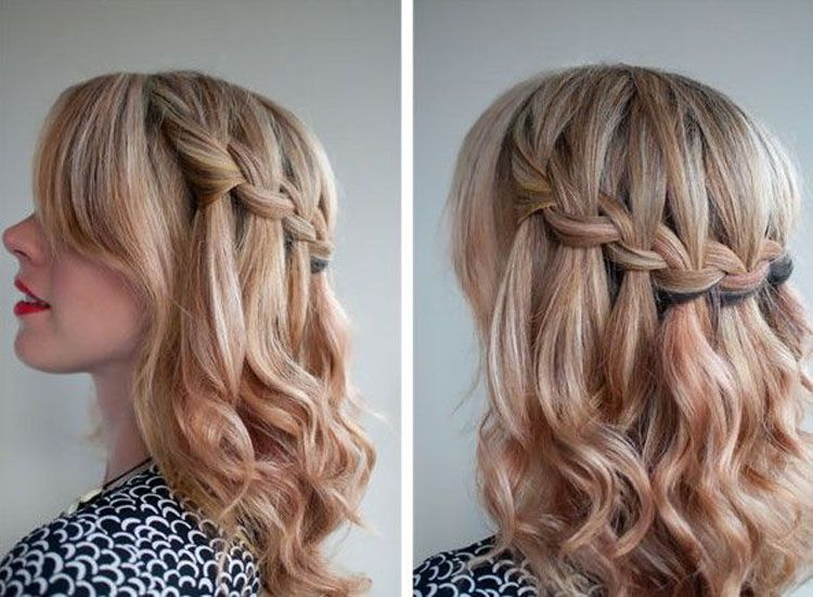 Cute Hairstyles For Medium Length Hair For School 2014 Medium