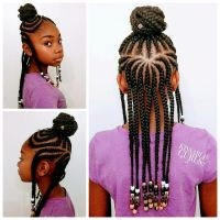 Fulani Inspired Braids with Beads | Kissable Clients ...