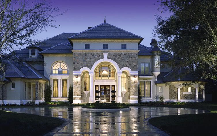 Modern Mansions Mansion House With A Classic Design Modern