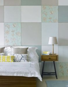 patchwork bedroom with hidden cupboards room idea photo gallery ideal home also rh pinterest
