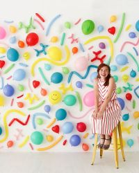 Balloon Wall Photobooth | Oh Happy Day! | DIY | Pinterest ...