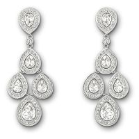 Swarovski crystal Sensation drop earrings