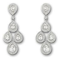 Swarovski crystal Sensation drop earrings   Jewelry ...