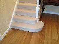 Laminate hall flooring, carpeted stairs | Habitat ...