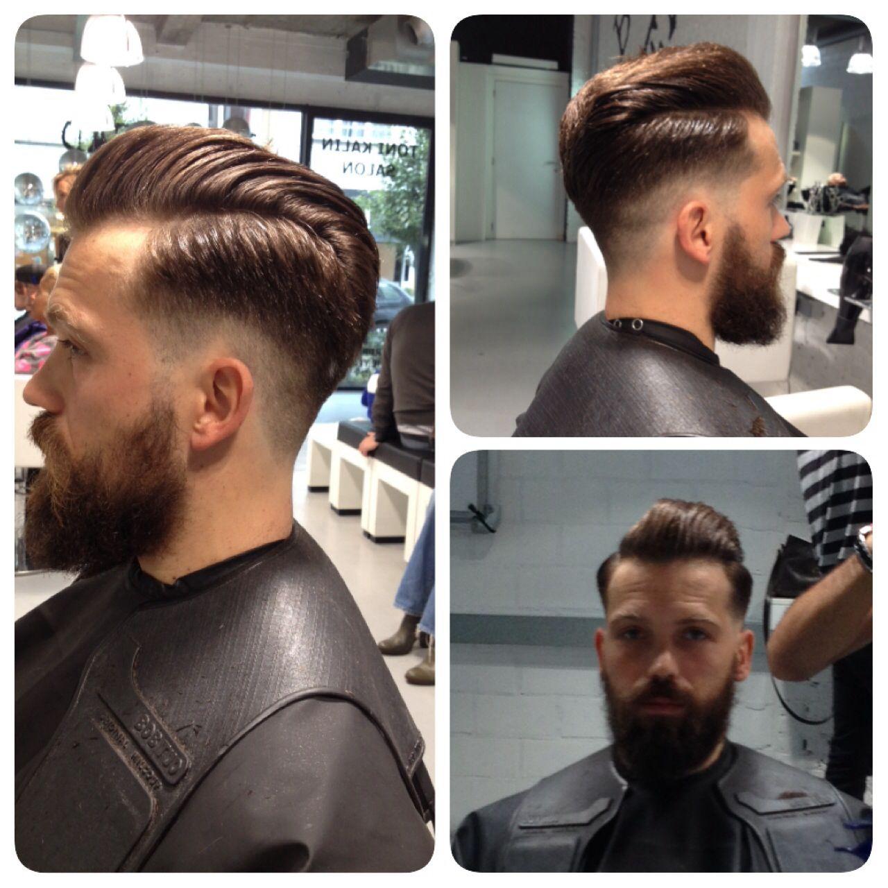 Undercut #oldschool #hairstyl #haircut #men #antwerp Men's Cuts