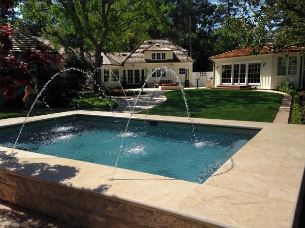 Swimming Pool Jet Fountains