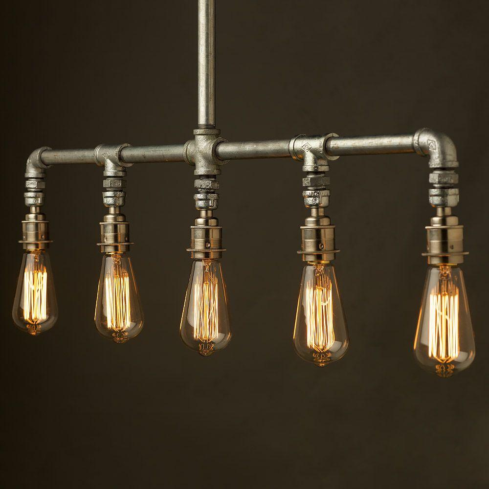 Light Pipe Industrial Pendant