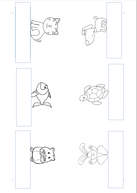 pets-finger puppet ( cat,dog, fish, turtle, rabbit