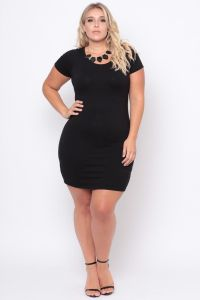 Plus Size Little Black Dress - Black | Black, Clothes and ...