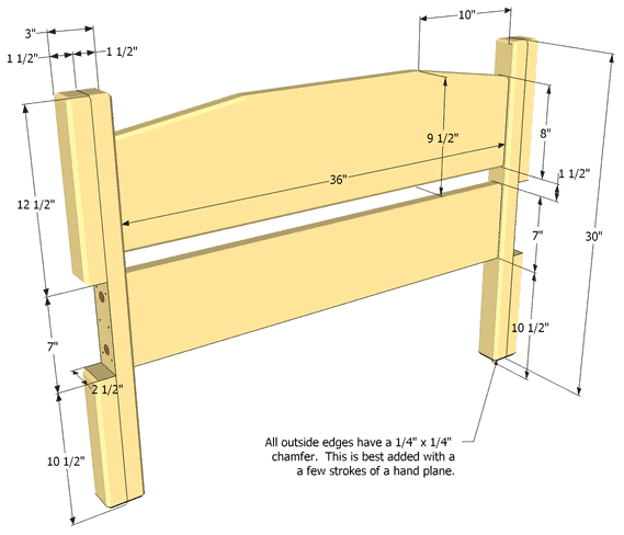 How To Build A Twin Bed Frame
