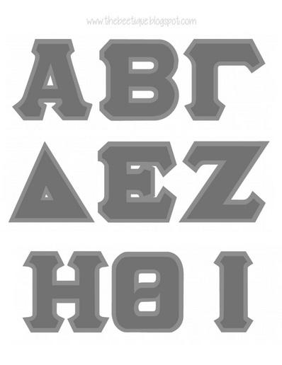 Greek Fraternity Stencils