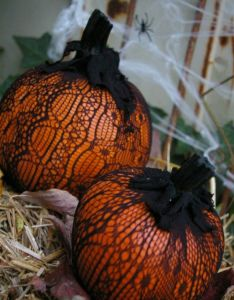little pumpkin  lace quick and easy decorating idea pike nurseries fall decorations pinterest gardens holidays halloween ideas also rh in
