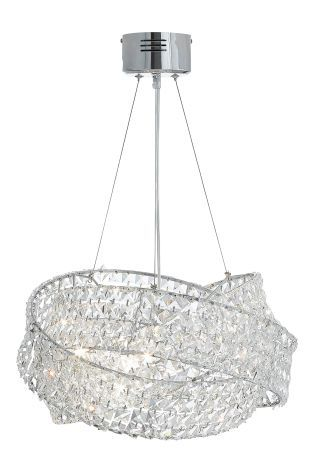 Clear Venetian 5 Light Chandelier From The Next Uk Online