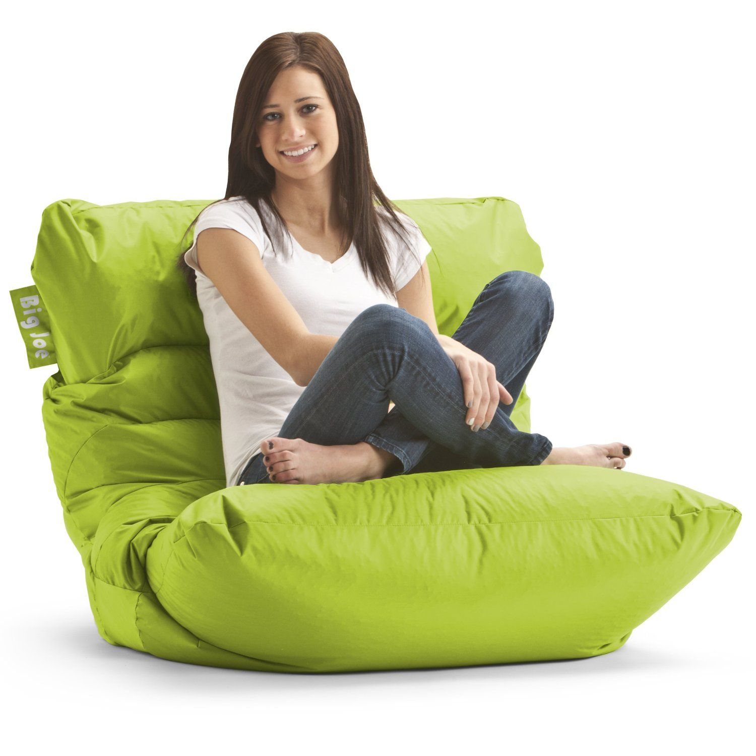 Amazoncom  Big Joe Roma Bean Bag Chair Spicy Lime