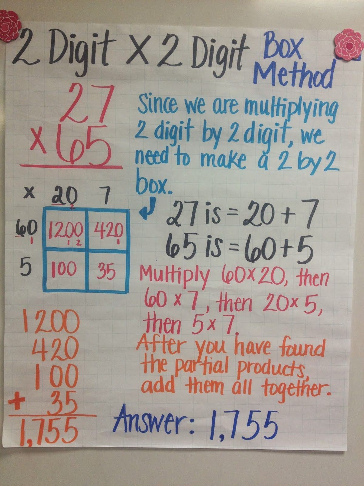 2 Digit X 1 Digit Multiplication For The Past Couple Of Weeks We Have Been Learning Multiple
