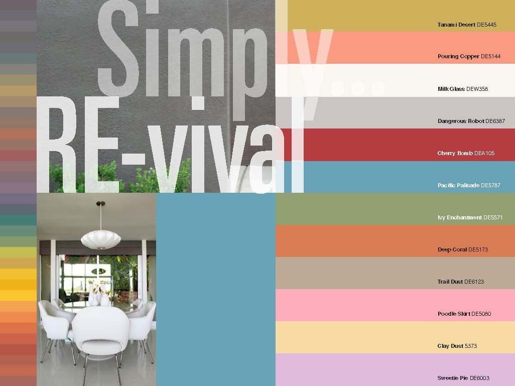 The Mid Century Modern Exterior Color Palette Up There Is