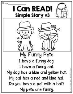 I Can READ Simple Stories! Simple stories made up of SIGHT