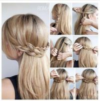 Cute Updos for long hair | Hair tutorial braid, Easy hair ...