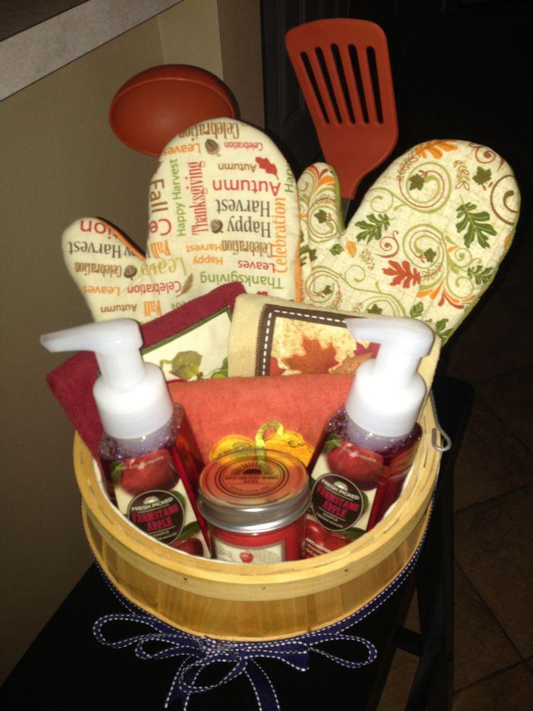 fall gift basket ideas pinterest