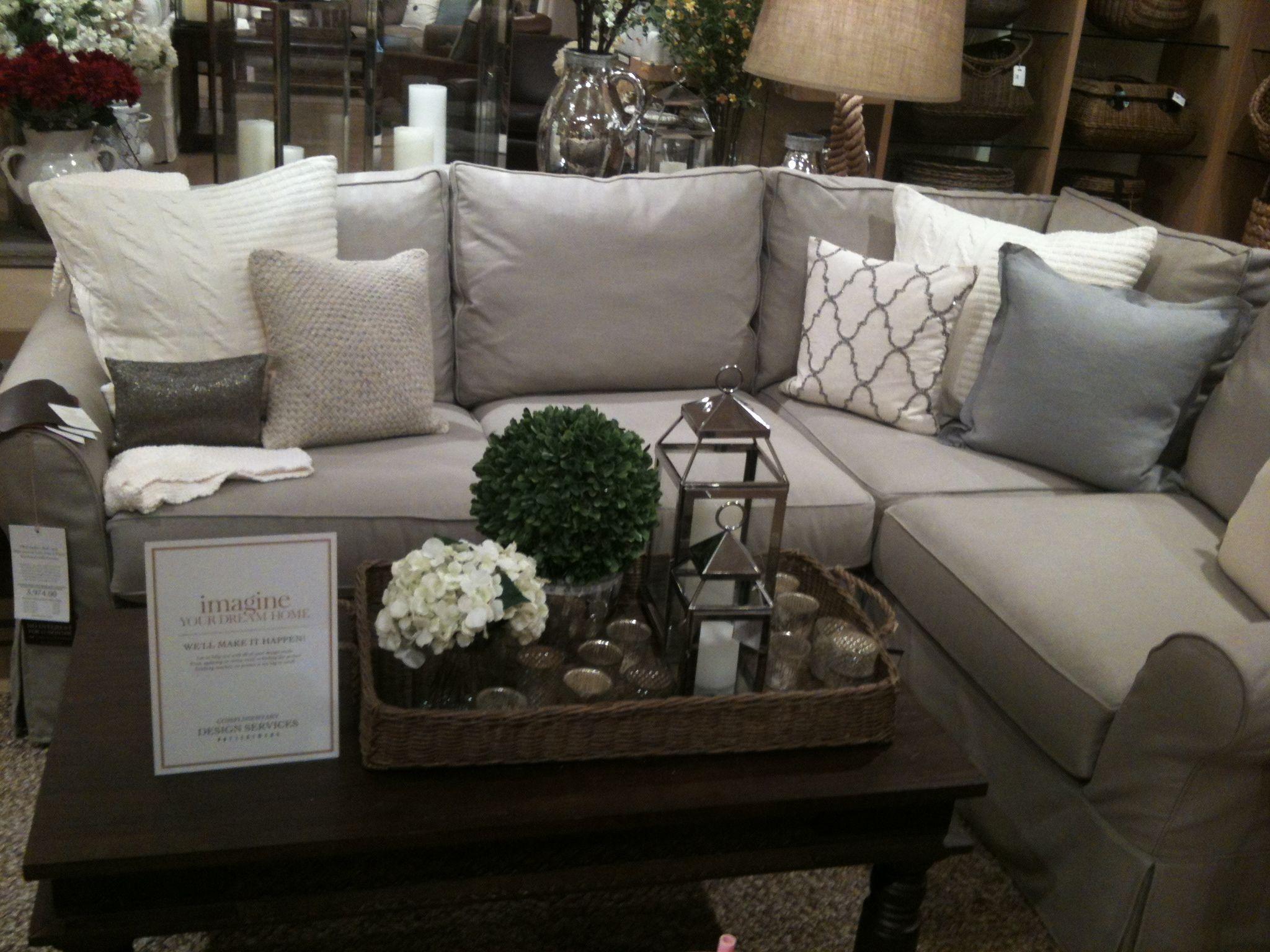 living room ideas light grey sofa mart austin tx pottery barn sectional pillows family