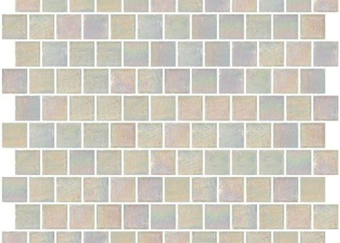 inch icy white iridescent glass tile reset in offset layout also susan jablon mosaics