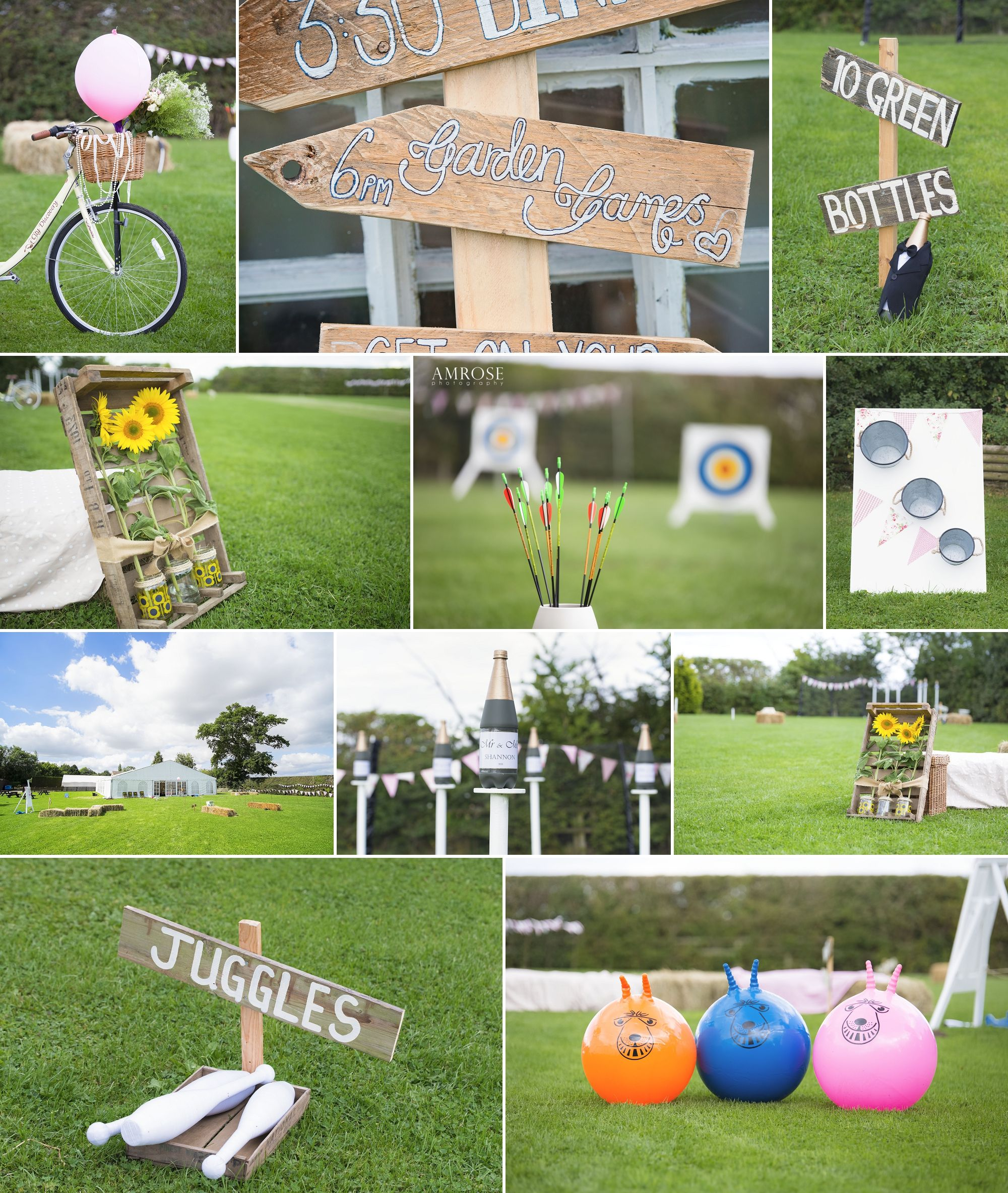 Vintage Garden Game Ideas For Your Wedding Reception Vintage