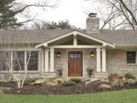 Front Porch Designs Ranch Style House Latest Decks Brick ...