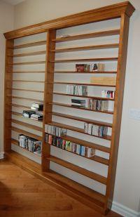 Custom DVD/CD Wall Shelf Unit | Dutch Haus Custom ...