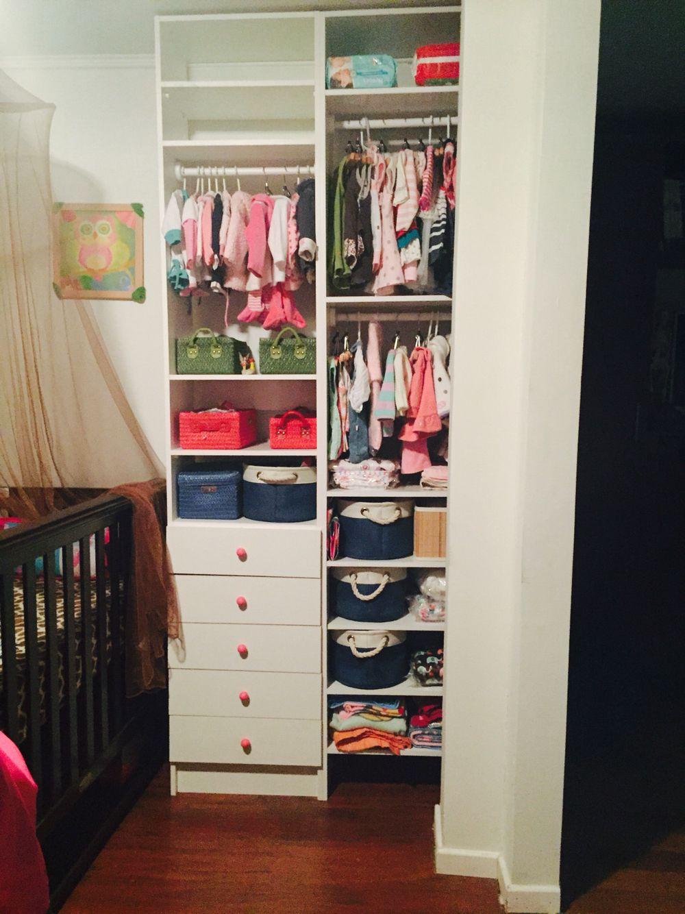 Mueble organizador para la ropa del beb  Babys