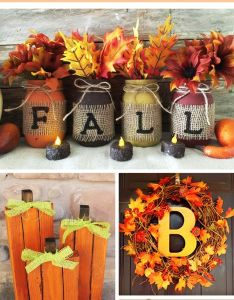 fancy diy fall craft ideas to bring autumn your home also rh pinterest