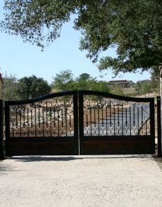 Gate company los angeles method automatic also best images about gates on pinterest landscaping iron rh
