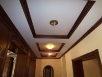 Casual Wooden Ceiling Design For Modern Hallway Decoration ...